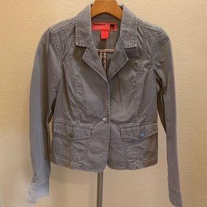 Mossimo size medium gray denim jacket
